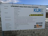 Výrobná hala KUK COILS Slovakia - HICO